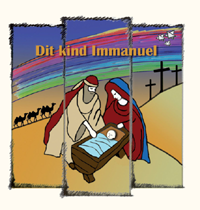 Viool1partij Dit Kind Immanuel / This Child Immanuel